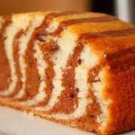 Cake cebra