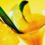 Daiquiri de mandarina y menta
