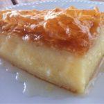 Pastel de leche griego (Galaktoboureko)