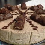 Cheesecake de Kinder chocolate