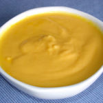 Crema de patata y zanahoria para dos