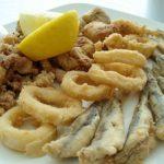 Harina para freír pescado