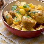 Patatas con pollo