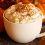 Café con leche de calabaza ( Starbucks )
