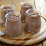 Crema de chocolate con nueces