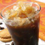 Café (de puchero ) con hielo