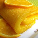 Tarta húmeda de naranja