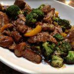 Ternera salteada con brócoli