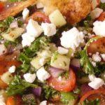 Fattoush (ensalada árabe)
