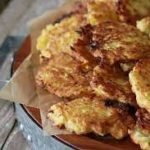 Buñuelos de calabaza con queso