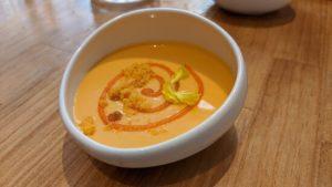 Crema de zanahorias y patatas