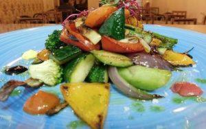 Verduras crujientes salteadas