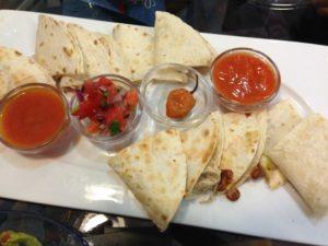 Salsa mexicana para quesadillas