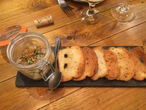 Paté de champiñones y anchoas