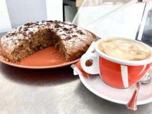 Cake capuccino con crema espresso