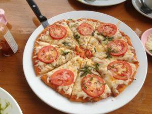 Pizza flor