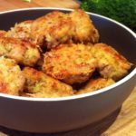 Nuggets de pollo con brócoli