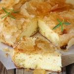 Tiropita - Pastel de queso griego -