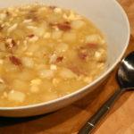Sopa de jamón