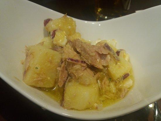 Ensalada de patata australiana