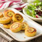Rollo de patata con queso