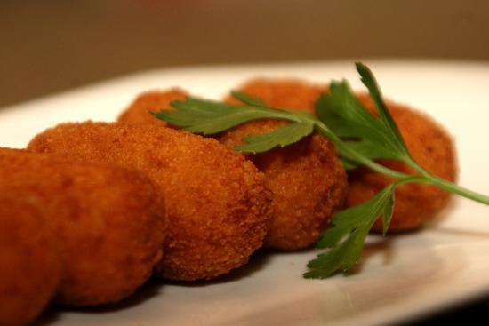 Croquetas de queso Arzúa