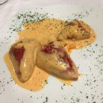 Pimientos del piquillo rellenos de atún y queso