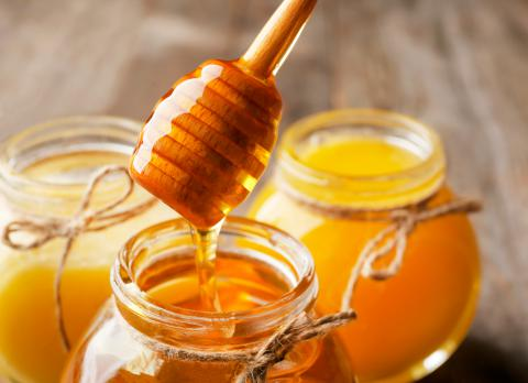 Miel agria para la digestión